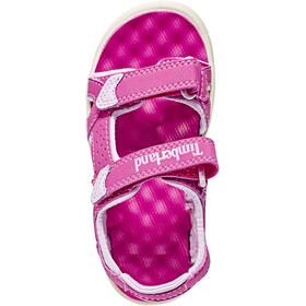 Timberland Perkins Row Sandalias de 2 correas Niños, medium pink
